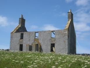 Finlay Macrae's house on Vallay